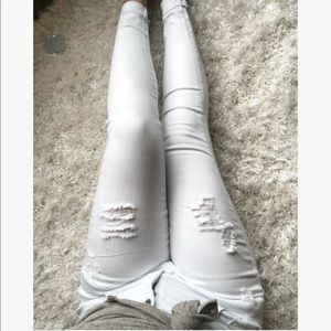 Denim - Ashley Perfectly White Jeans